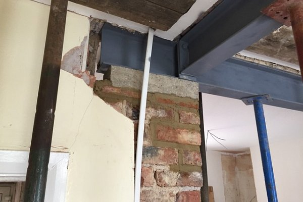 Damp Proofing and Structural Work to Renovate Older Home